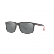 Oculos Sol Arnette Stripe An4251 25736g Cinza Fosco Lente Prata Espelhada