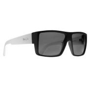 Oculos Sol Evoke The Code A00S Black Temple White Matte Silver Gray Total
