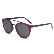 OCULOS SOL MORMAII LOS ANGELES M0062C6003 BORDO FOSCO LENTE  CINZA POLARIZADA