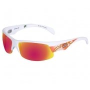 Oculos Sol Mormaii Street Air 35040611 Branco Fosco Lente Vermelha Espelhada