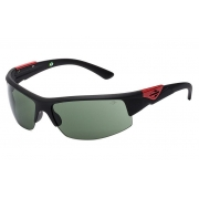 Oculos Sol Mormaii Wave 44955471 Preto Fosco Lente Verde