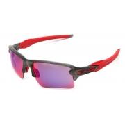 Oculos Sol Oakley Flak 2.0 XL 9188 04 CINZA FOSCO LENTE PRIZM ROAD