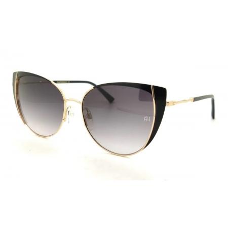 Óculos Solar Ana Hickmann  ah3222 09a 54 Dourado  Lente Degradê Cinza