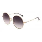 Óculos Solar Ana Hickmann  ah3226 04a 58 Dourado  Lente Degradê Cinza