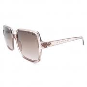 Óculos Solar Atitude at5449 t01  rosa translúcido lente marrom degradê