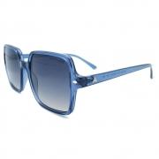 Óculos Solar Atitude at5449 t02  azul translúcido lente cinza degradê