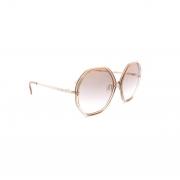 Óculos Solar Atitude AT8024 04B marrom translúcido lente marrom  degradê