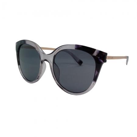Óculos Solar Atitude  At8068 H01 Cinza Translúcido  Lente  Cinza