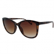 Óculos Solar Atitude  At8072 G21 Marrom Brilho Tartaruga Lente Degradê Marrom