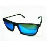 Oculos Solar BMW B6515 90 Preto Azul Espelhado