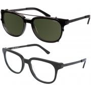 Oculos Solar Colcci 5021 Clip-on Para Grau 502100171 Preto