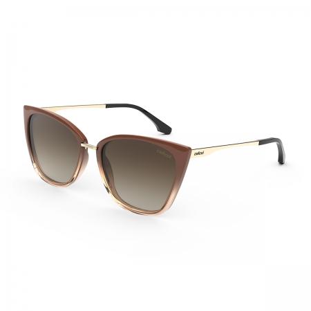Óculos Solar Colcci Aretha c0154f0834 Marrom Degradê Lente Degradê Marrom