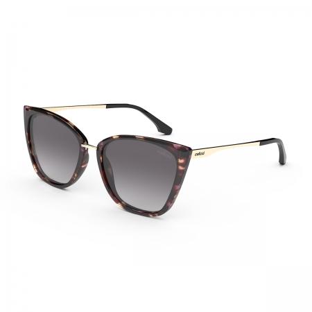Óculos Solar Colcci Aretha c0154fa533 Marrom Demi Lente Degradê Cinza