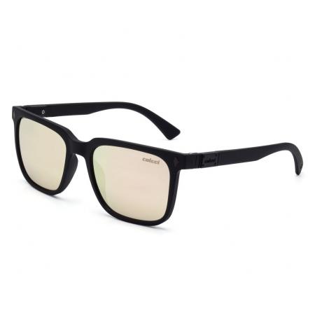 Óculos Solar Colcci Ark C0081a1446 Preto Fosco  Lente Espelhada Rosa