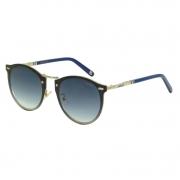 Óculos Solar Colcci  C0098G2986 Prata  Lente Azul Degradê