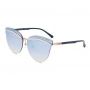 Oculos Solar Colcci C0136e2927 Rosê Brilho Lente Azul Degradê Bronze