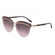 Oculos Solar Colcci C0136e4937 Dourado Fosco Lente Vinho Degrade