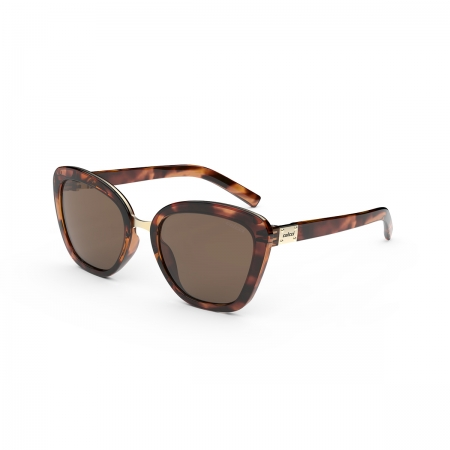 Oculos Solar Colcci Ceu C0186f2102 Demi Marrom Brilho Lente Marrom