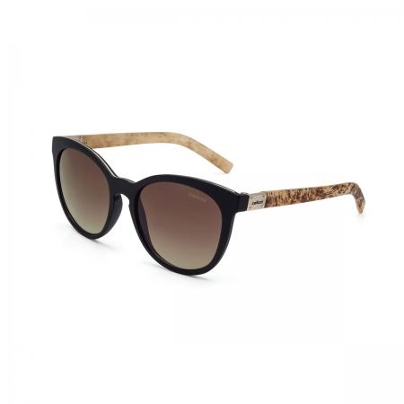 Óculos Solar Colcci Nina C0070acv34 Preto Fosco Lente Degradê Marrom