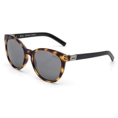 Óculos Solar Colcci Nina C0070f4409 Amarelo Brilho Demi Lente Espelhada Cinza