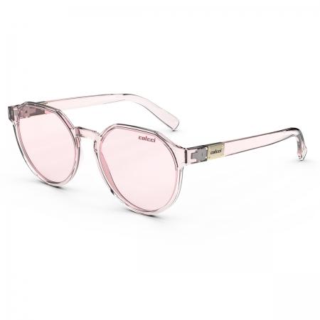 Óculos Solar Colcci Noa 2 C0198ba826 Rosa Translúcido  Lente  Rosa