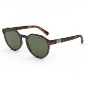 Óculos Solar Colcci Noa 2 C0198f3971 Marrom Fosco Demi Lente  Verde