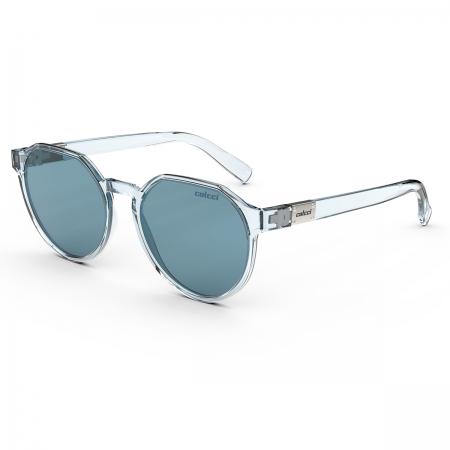 Óculos Solar Colcci Noa 2 C0198kcr66 Azul Translúcido  Lente  Azul