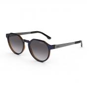 Óculos Solar Colcci Noa C0185kco33 Azul Brilho  Lente Degradê Cinza