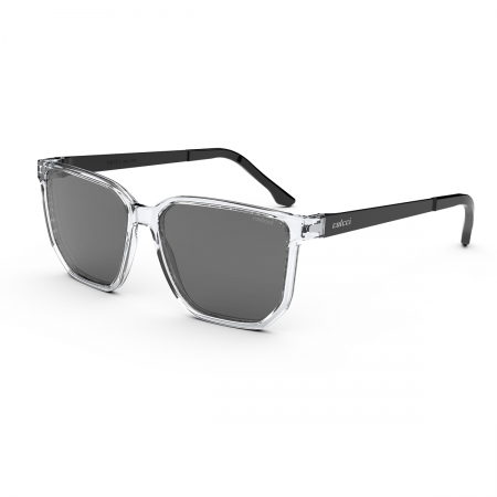 Óculos Solar Colcci Ross C0204dc001 Transparente Translúcido  Lente  Cinza