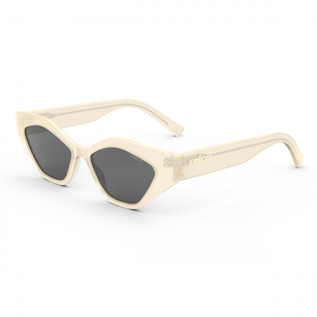 Óculos Solar Colcci Soho C0201ba901 Creme Translúcido  Lente  Cinza