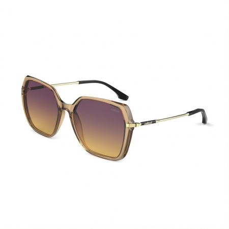 Óculos Solar Colcci Stela C0167fg3a7 Marrom Translúcido Lente Degradê Roxo