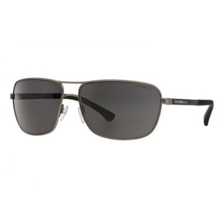 Óculos Solar Emporio Armani Ea2033 313087 64 Grafite Lente Cinza