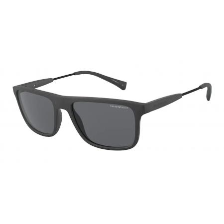 Óculos Solar Emporio Armani Ea4151 580087 56 Cinza Fosco Lente Cinza