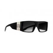 Oculos Solar Evoke Bomber A02 Black Shine Silver Gray Gradient