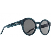 Oculos Solar Evoke Evk 12 Big Turtle Blue Gray total