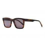Oculos Solar Evoke Uprise Ds1 E01 Marrom Tartaruga Fosco Lente Verde G15