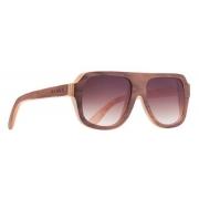 Oculos Solar Evoke Wood 1 Light Walnut Brown Gradient