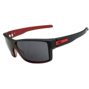 OCULOS SOL HB BIG VERT MATTE BLACK ON RED GRAY 10100550255001