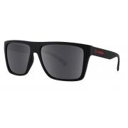 OCULOS SOLAR HB FLOYD MATTE BLACK D.RED GRAY 9011770200