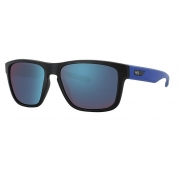OCULOS SOLAR HB H BOMB BLACK MATTE BLUE BLUE CHROME 9011257787