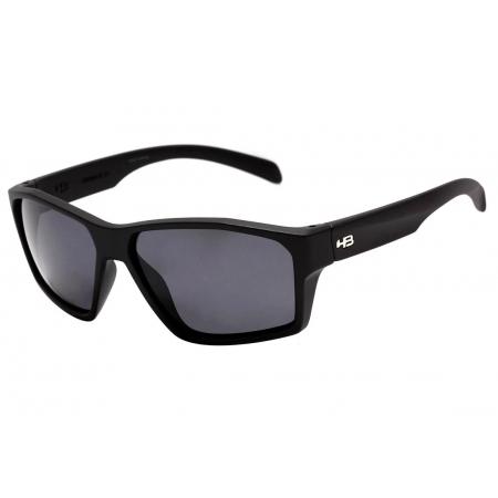 Oculos Solar Hb Stab 10100080243032 Preto Fosco Lente Cinza Polarizada