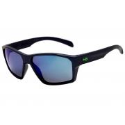 Oculos Solar Hb Stab 10100080312024 Azul Fosco Lente Azul Espelhada