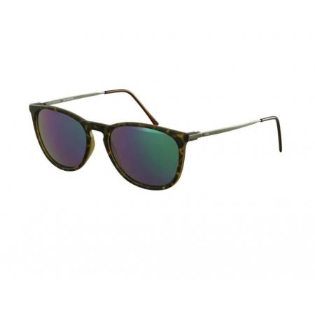 Óculos Solar Hb Tanami 10100070214028 Marrom Havana Lente Verde Espelhada