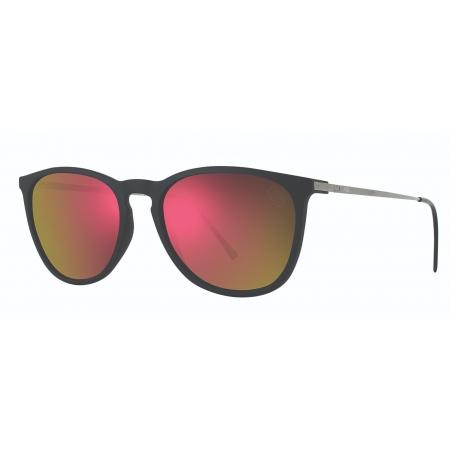 Óculos Solar Hb Tanami 10100070243027 Preto  Lente Vermelho Espelhada
