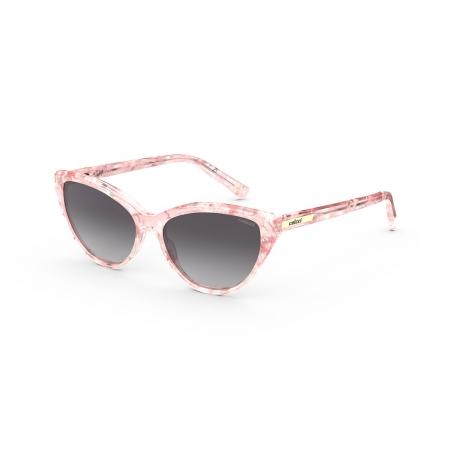 Óculos Solar Infantil Colcci Nathi Fun c0189b4233 Rosa  Lente Degradê Cinza