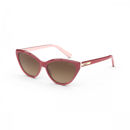 Óculos Solar Infantil Colcci Nathi Fun c0189ba634 Rosa  Lente Degradê Marrom