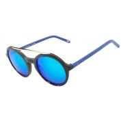 Oculos Solar It Sabrina Sato Scarlet A135 C25L1 MARROM Tartaruga / LENTE AZUL ESPELHADO