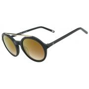 Oculos Solar It Sabrina Sato Scarlet A135 C56l6 Preto Fosco / LENTE  Dourado