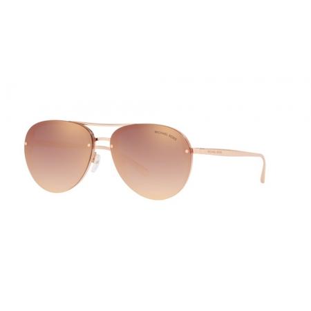 Óculos Solar Michael Kors Abilene Mk2101 34686f 60 Rosê Lente Rosa Espelhada