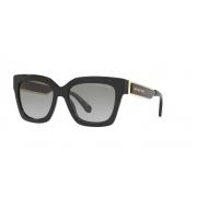 Óculos Solar Michael Kors Berkshires Mk2102 300511 54 Preto Brilho Lente Cinza Degradê